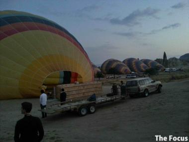 気球 カッパドキア