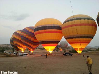 気球 トルコ