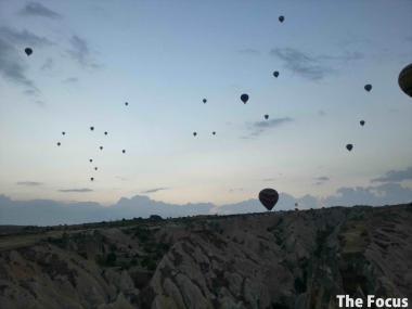 気球 トルコ カッパドキア 世界遺産