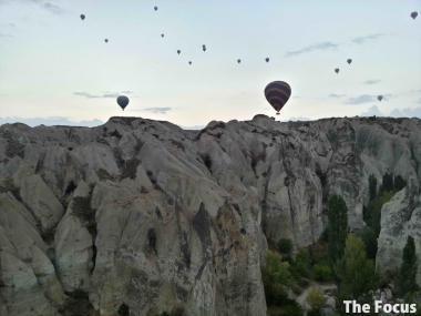 気球 トルコ カッパドキア