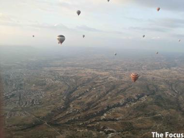 気球 旅行 カッパドキア