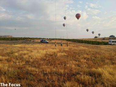 旅行 カッパドキア 気球