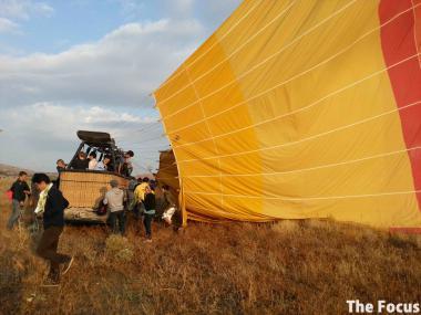 カッパドキア トルコ 気球 観光