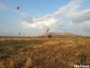 カッパドキア 観光 気球