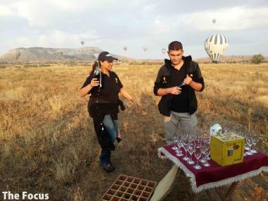 旅行 カッパドキア 気球 観光