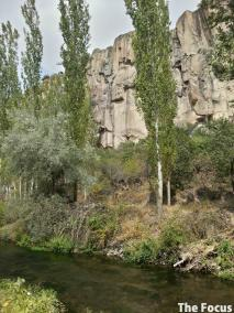 トルコ カッパドキア ウフララ渓谷