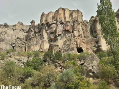 ウフララ渓谷 カッパドキア トルコ