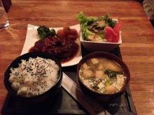 日本の伝統文化である刀を学びつつ最新のIT社会で活きる現在の剣士のブログ-和牛ハンバーグ定食