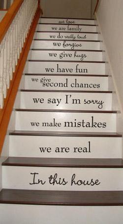 ウォールステッカー(階段2)