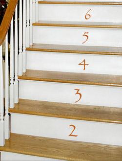 ウォールステッカー(階段4)