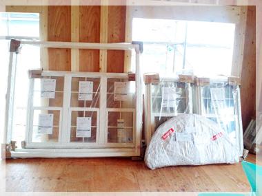 新居の窓、到着★