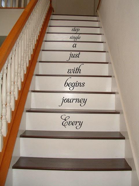 階段ステッカー