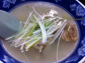 牛たん 和 テールスープ