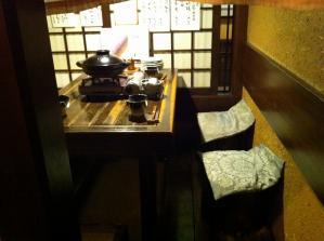 桜桃の花 テーブル席