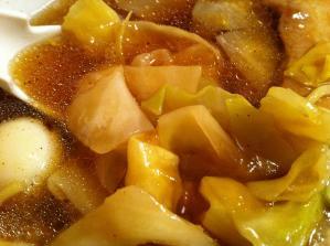 西華 広東麺 キャベツ2