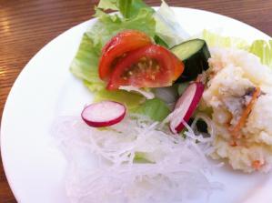 Natural Cafe サラダ アップ