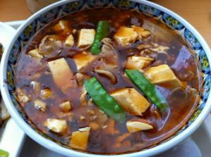 麺飯甜 スーラー湯麺