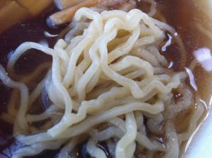 福家そばや2 麺アップ