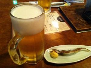 寅次郎2 生ビール