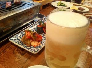 千歳 生ビール
