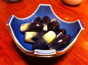 花寿司 漬物
