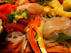 花寿司 お刺身 アップ2