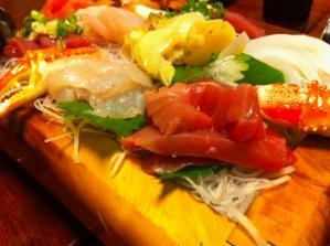 花寿司 お刺身 アップ1