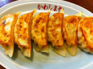 河島屋食堂 餃子2