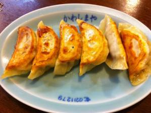 河島屋食堂 餃子1