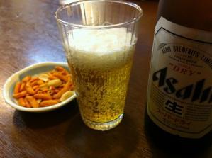 河島屋食堂 ビール