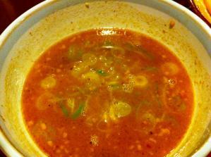 優勝軒 特製もりそば スープ