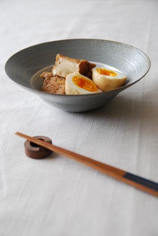 厚揚げと卵の煮物2