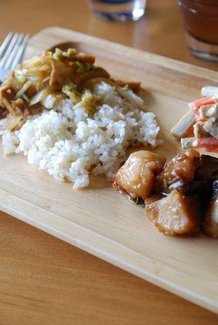 白菜と薄揚げの生姜焼き2