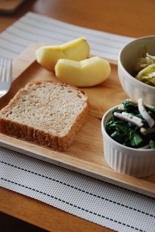 胚芽パン朝食2