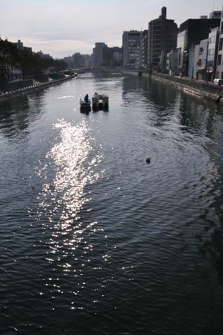 新町川水温11℃