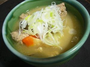 肉団子汁1