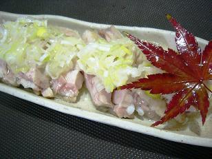 若鶏陶板ソース (3)