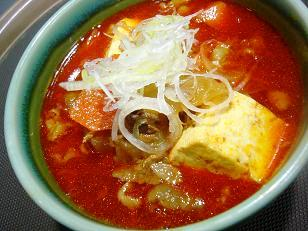 牛スジトマト煮1