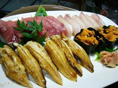 特注寿司盛り1 (1)小