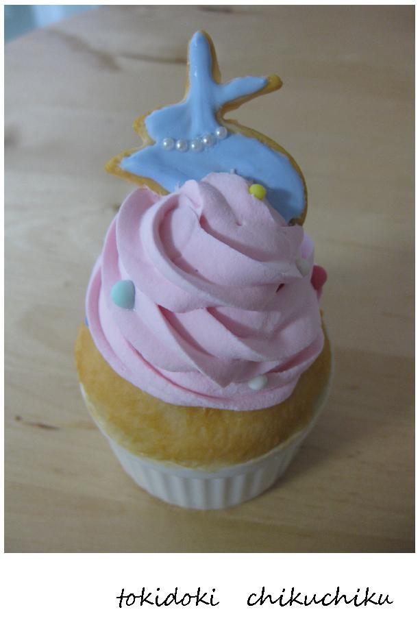 ウサギのカップケーキ