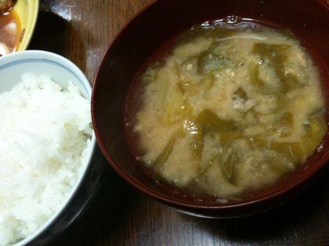 白菜のおつゆ