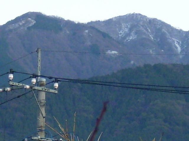 丹沢初冠雪61
