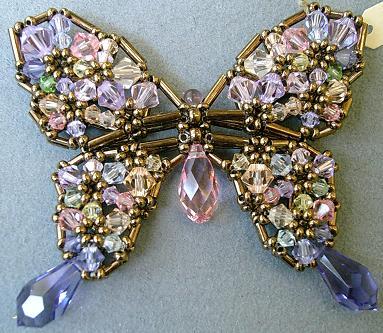 カラフル蝶々