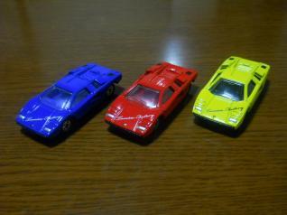 ランボリギーニ カウンタックLP400 ×3台