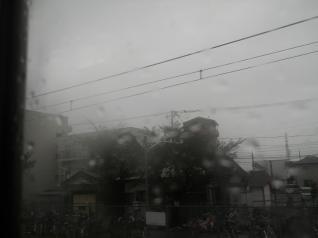 雨の相模線