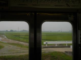 磐越西線2度目の田園