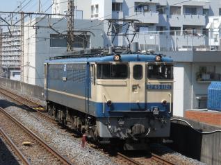 EF65-1121号機