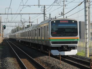E231系ヤマU-588編成