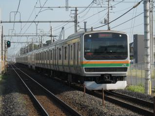 E231系ヤマU-591編成