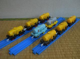 タンク車8両